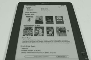 ¿Pronto un Ebook Kindle DX 2?