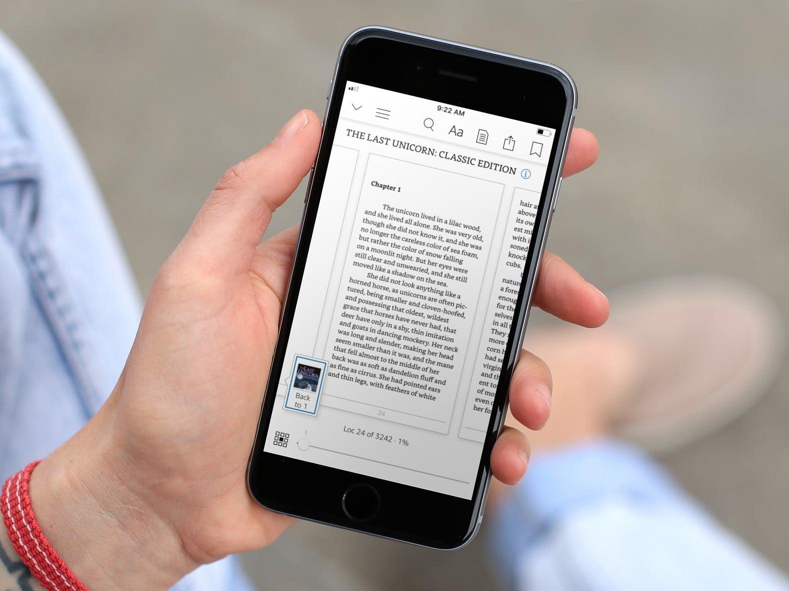 Amazon Kindle ahora puede guardar las fuentes preferidas y la configuración de diseño
