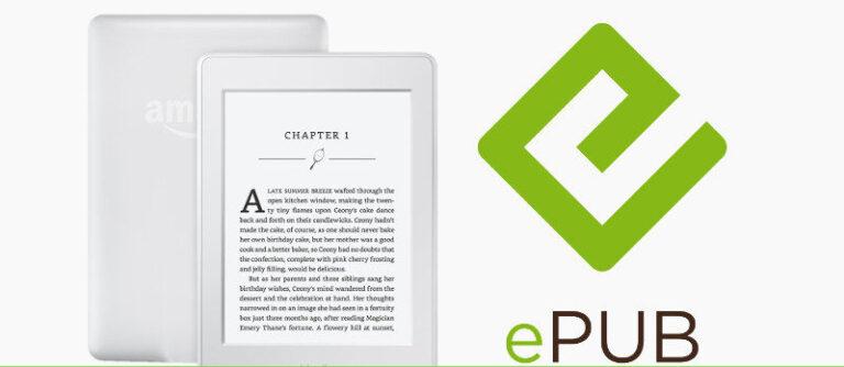 ¿Cómo envío y leo un EPUB en un lector electrónico Kindle?