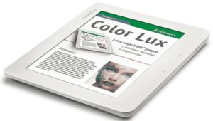 El primer lector electrónico en color asequible