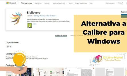 Alternativa a Calibre para Windows