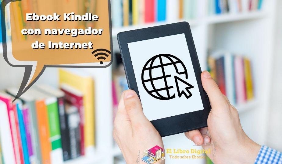 Ebook Kindle con navegador de Internet