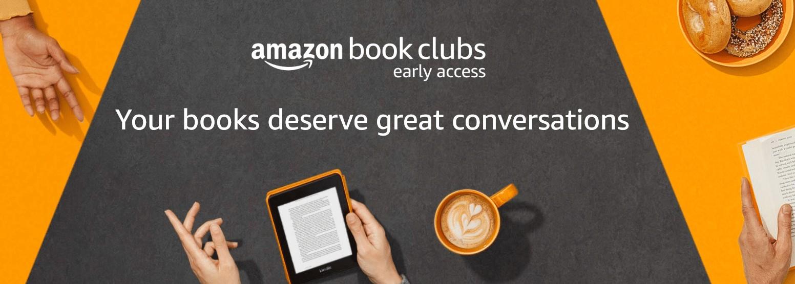 Amazon Book Clubs es un nuevo programa de acceso anticipado