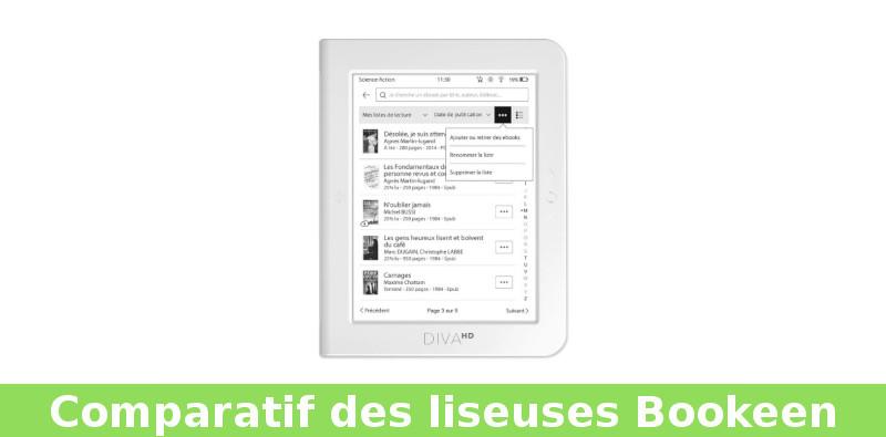 Ebooks bookeen: guía comparativa 2020