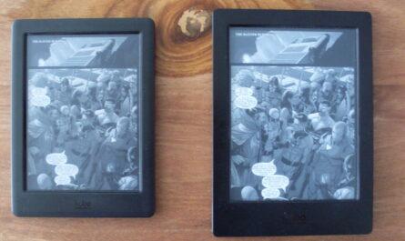 Kobo Glo HD y Kobo Aura H2O: lectura de cómics