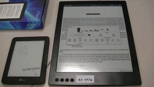 otro e-reader con pantalla de 13,3 pulgadas