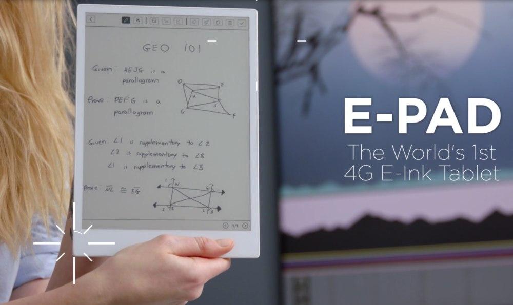 Lector de e-pad con conexión 4G