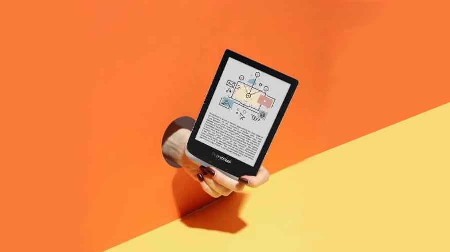 lector de color de libro de bolsillo 2020