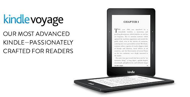 Descripción Kindle Voyage