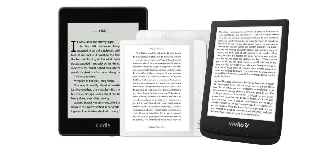 Ebook barato: Vivlio y Kobo