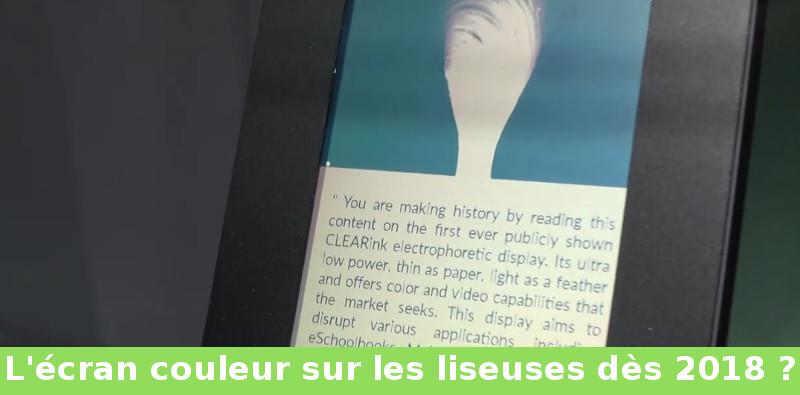 Un video presenta el futuro del Ebook en color: ClearInk