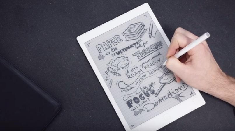 libro electrónico con lápiz óptico reMarkable