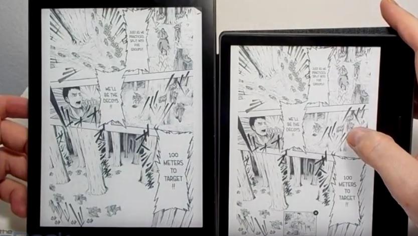 Lector comparativo kindle kobo lectura de cómics