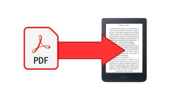 ¿Cómo leo archivos PDF con el lector electrónico Kobo Glo HD?