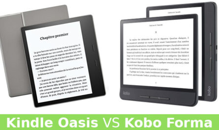 Kobo Forma vs Kindle Oasis (2019)