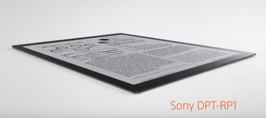 Un nuevo e-reader de 13 pulgadas para Sony en 2019