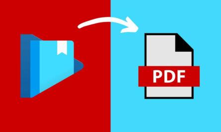 Cómo descargar y convertir Google Play Books a PDF