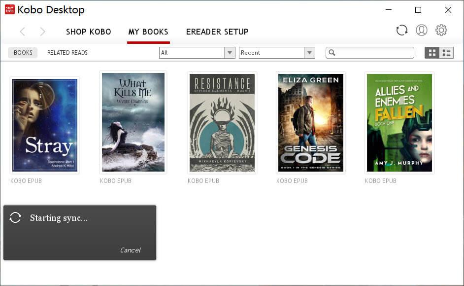 Descarga Kobo Books en PC / Mac con Kobo Desktop