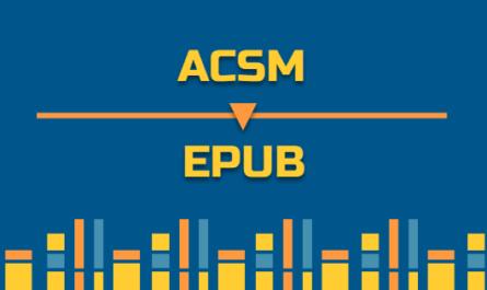 Manera fácil de convertir ACSM a EPUB
