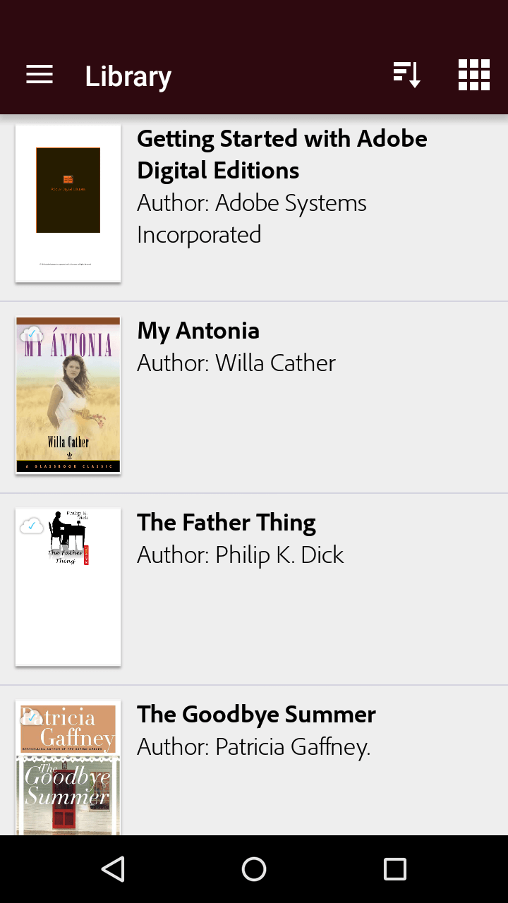 agregar libros en android ade