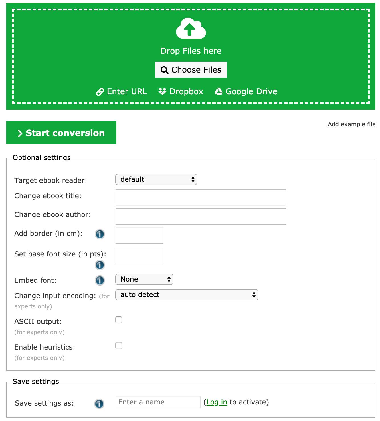 Convierta ACSM a PDF en línea