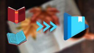 ¿Puedo subir mis propios archivos a Google Play Books?