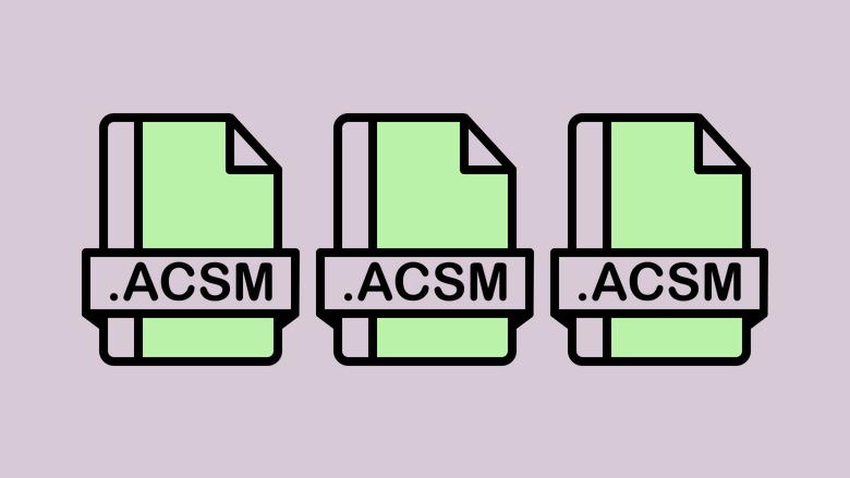 ¿Qué es un archivo ACSM? Explicación del formato de archivo ACSM